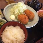 四季 - コロッケ定食☆