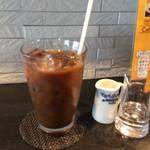 昼カラク - 食後のアイスコーヒー