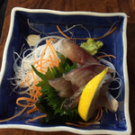 40902270 - 関鯖の刺身、日本人で良かったと思う瞬間です