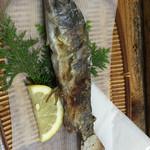 40903024 - 山女魚の塩焼き