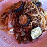 BBQテラス - 淡路牛と茄子のボロネーゼ