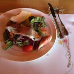 BBQテラス - 淡路野菜のサラダ