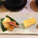 40904857 - 鰆の西京焼き(多分)と卵焼き