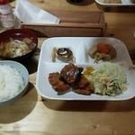 南御室小屋 - 料理写真:夕食