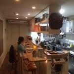 ミート キッチン ナツ - 店内の雰囲気です。