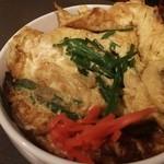 風知空知麺 - ニラ玉丼 390円