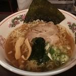 風知空知麺 - 煮干し中華そば醤油 680円