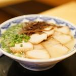 40907071 - 2015.8 豚ばらチャーシュー麺(900円)