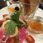 朝日珈琲サロン - サラダセット(¥950)