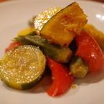 アダン - 夏野菜の揚げびたし