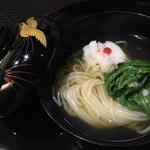 北新地 湯木 - 2015.8 鱧すき鍋