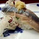 さかえ寿司 - 15.8月 さんま