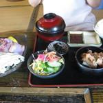 白水乃蔵 - 地鶏定食
