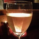 バーアムスルーム - 白1号グラス