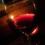 バーアムスルーム - 赤1号 グラス
