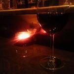 バーアムスルーム - 赤2号 グラス