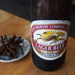 陣屋 - 瓶ビール¥550