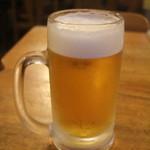 あだん亭 - 生ビール(オリオン)