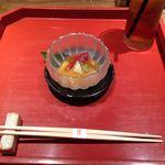 一燈 - 野菜のジュレ 2015.07.29