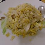 福園 - 半炒飯(拉麺+半炒飯)