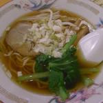 福園 - 拉麺(拉麺+半炒飯)