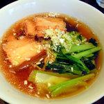 恵比寿小籠包 陽炎 - もち豚角煮麺