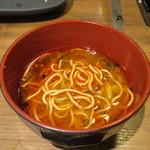 温野菜 - 蒙古炎鍋だし麺
