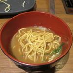 温野菜 - 熟成カレーだし麺