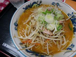 らーめんや天金 四条店 - 野菜ラーメン味噌800円