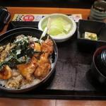 鳥どり総本家 - 筑波鶏炭火焼き鳥定食_2015/08