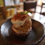 クワランカ カフェ - こちらもアイスタルト