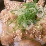 40926073 - はしっこチャーシュー丼(醤油ダレ)