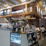 コーデュロイ カフェ - お店は福岡パルコ新館の地下一階にありますよ。