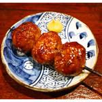 うなぎ家 - 「つくね(鶏)」(2015.07)