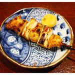 うなぎ家 - 「ねぎま(鶏)」(2015.07)