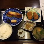 四季旬菜 ふくふく - 焼き魚定食