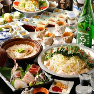 地元愛炸裂★愛知郷土料理や贅沢鮮魚を激得コースで味わう!