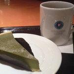 エクセルシオール カフェ - 抹茶チーズケーキとコーヒー