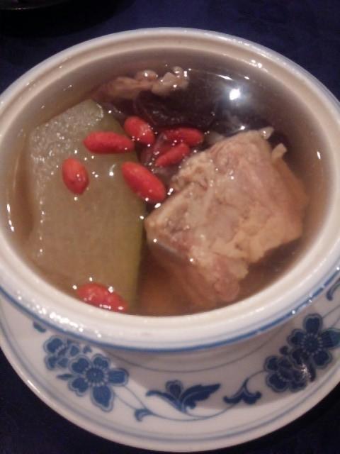 中国薬膳料理 星福 - ランチセット本日のスープ