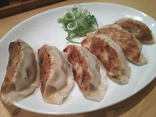 麺屋 雪風 すすきの店 - 餃子