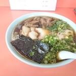 味の大西 - 2015年6月 チャーシューワンタンメン 1200円