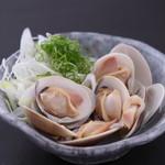 魚王KUNI - 蛤の酒蒸し