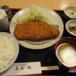 とん悦 - ロースカツ定食