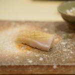 鮨 まるふく - 50日熟成のカジキ