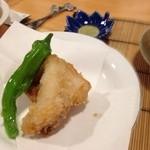 まんまる - フグの天ぷら