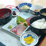 桜勘 - カンパチ刺身定食