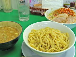今を粋ろ 米子店 - 2015年8月 つけ麺(700円) ニンニクなし、野菜・アブラ・カラメまし