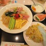 40938531 - 特選冷麺セット¥1300