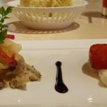 リストランテ ステファノ - 前菜 2種盛り合わせ