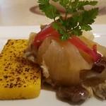 リストランテ ステファノ - 前菜 イワシのエスカベッシュ